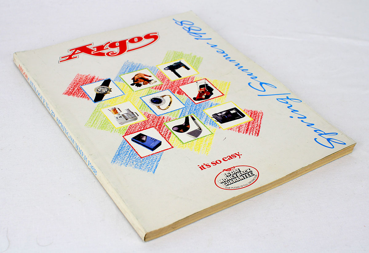 Argos catalogue 1988