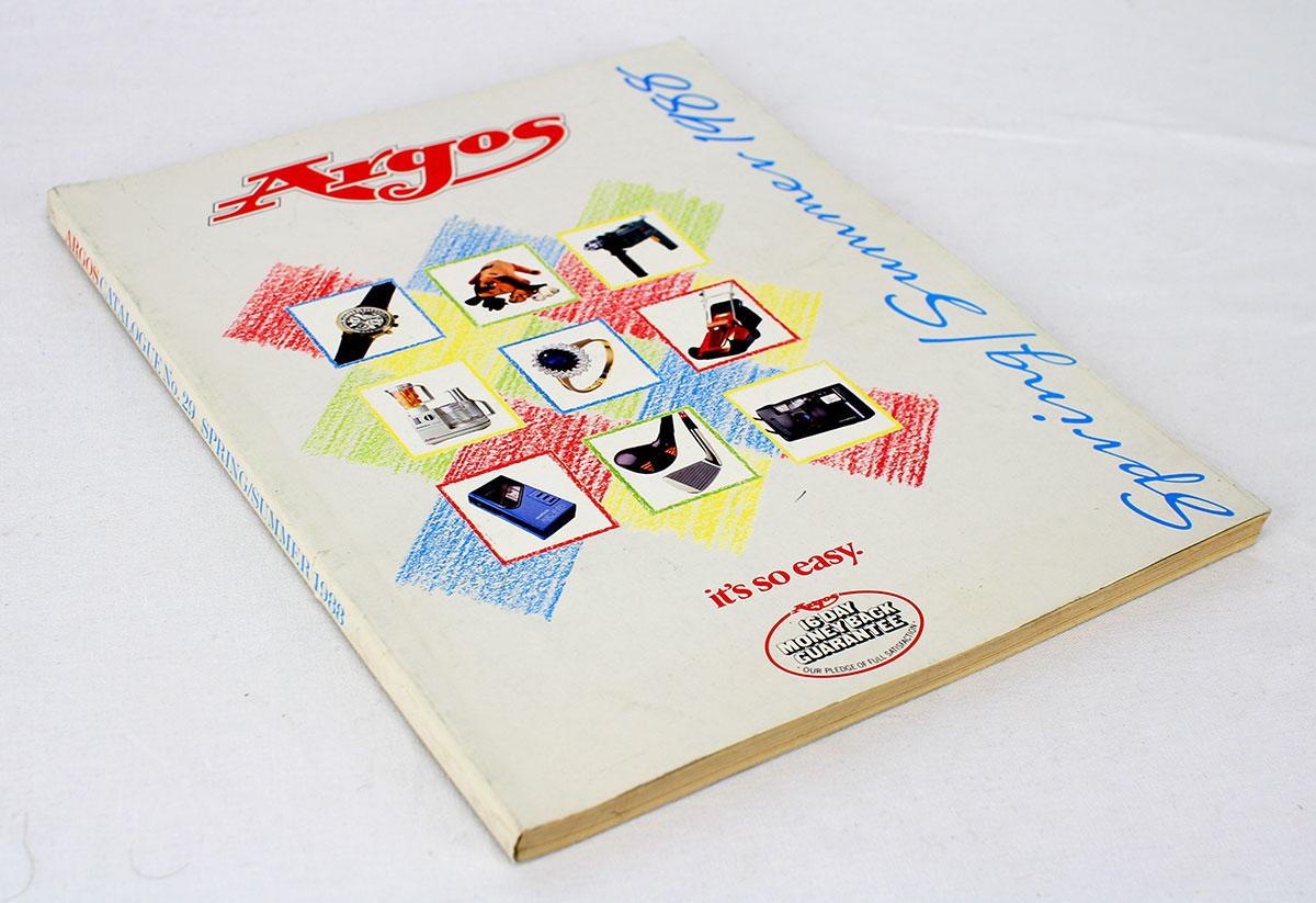 Argos catalogue 1988