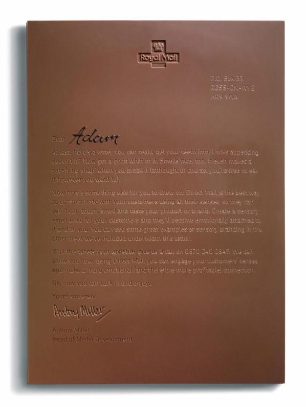 Chocolate Letter Full