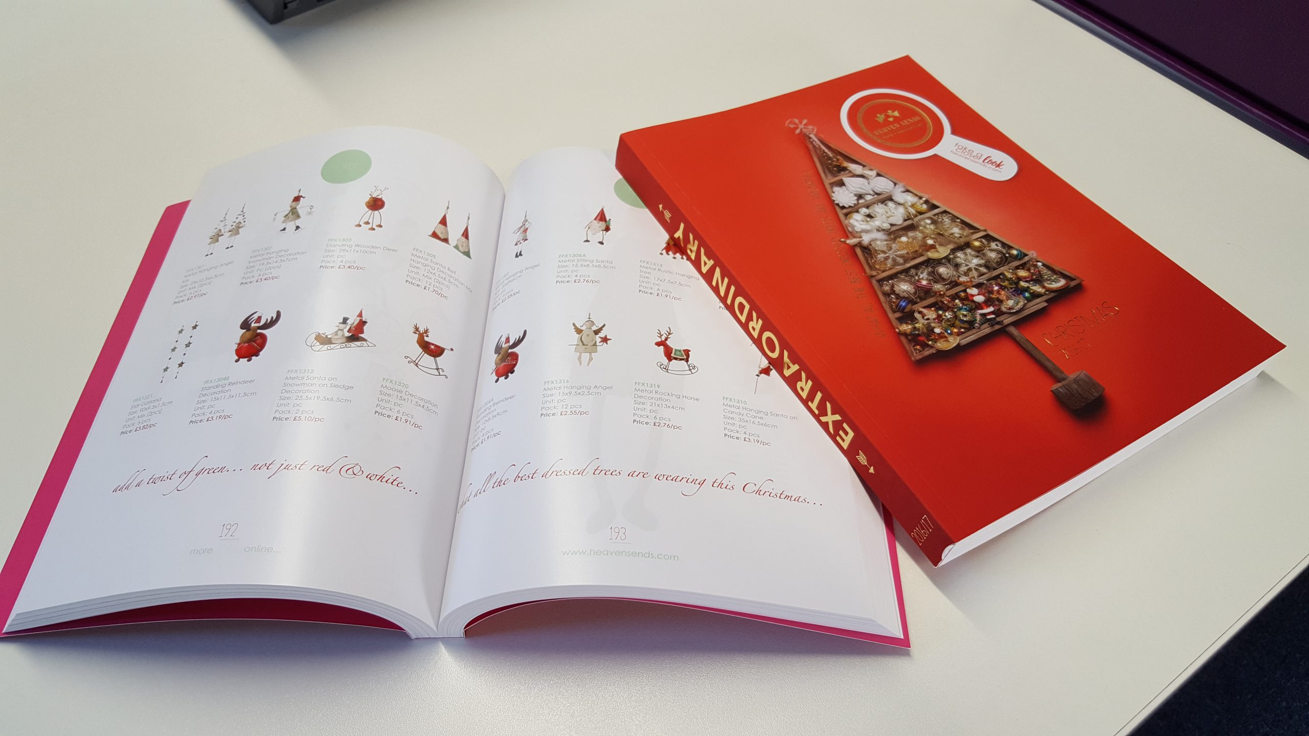 synergy christmas catalogue