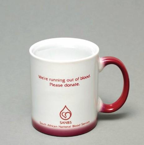Blood Bank Mug White