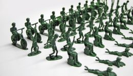 UNICEF Toy Soldiers example